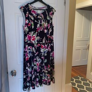 Wisp Dresses - Navy Floral Dress